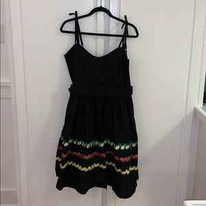 NWT Collectif Jade Fruity Swing Dress LARGE